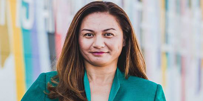 Green Party co-leader Marama Davidson